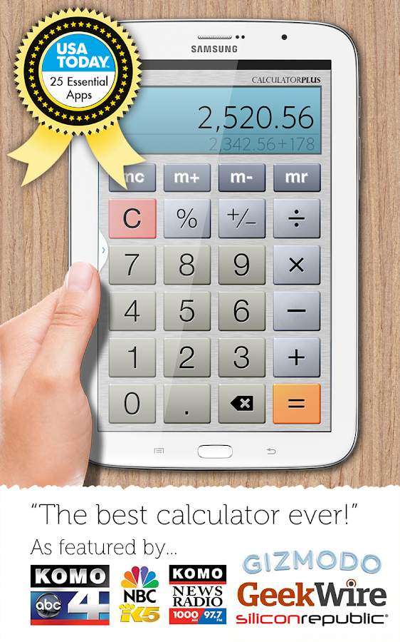 Calculator Plus Screenshot 5