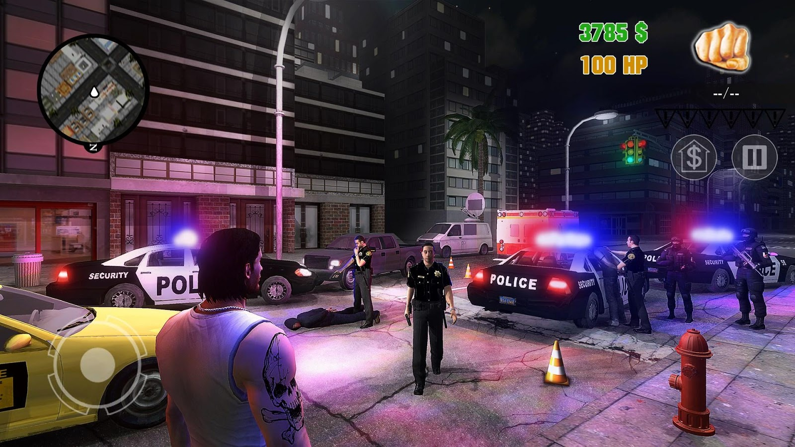 Clash of Crime Mad City War Go Screenshot 1