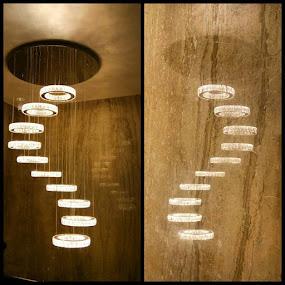 Chandelier n its reflection :) by Swati Nairi - Uncategorized All Uncategorized (  )