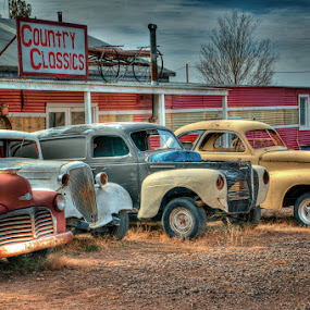 Very Used Cars by John Klingel - Artistic Objects Other Objects
