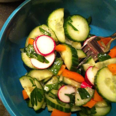 10 Best Lemon Cucumber Salad Recipes   Yummly