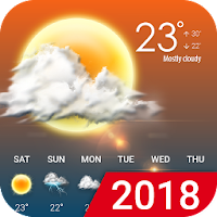 Hourly weather forecast on PC / Windows 7.8.10 & MAC