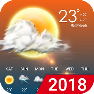 Hourly weather forecast New App on Andriod - Use on PC