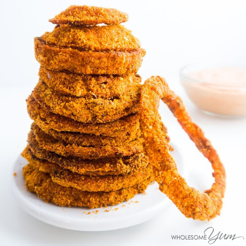 Cajun Onion Rings (Paleo, Low Carb)