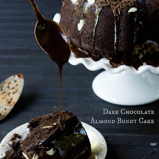 Dark Chocolate Almond Bundt Cake