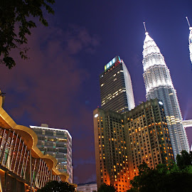 KL Tower by Mulawardi Sutanto - Buildings & Architecture Office Buildings & Hotels ( building, tower, malaysia, travel, kl )