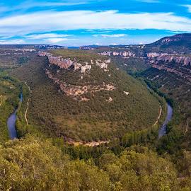 panoramica cañón del Ebro, Burgos by Roberto Gonzalo Romero - Landscapes Mountains & Hills ( ebro, panoramica, burgos, cañón )
