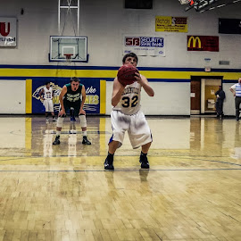 freethrow1 by TJ Morrison - Sports & Fitness Basketball ( basketball, freethrow, shoot, score, win )