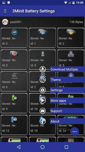 3Minit Battery Settings (PAID) - screenshot