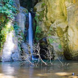 Salto do Cabrito by Ricardo Xavier - Landscapes Waterscapes ( parade, waterfalls, green, long exposure, rocks )