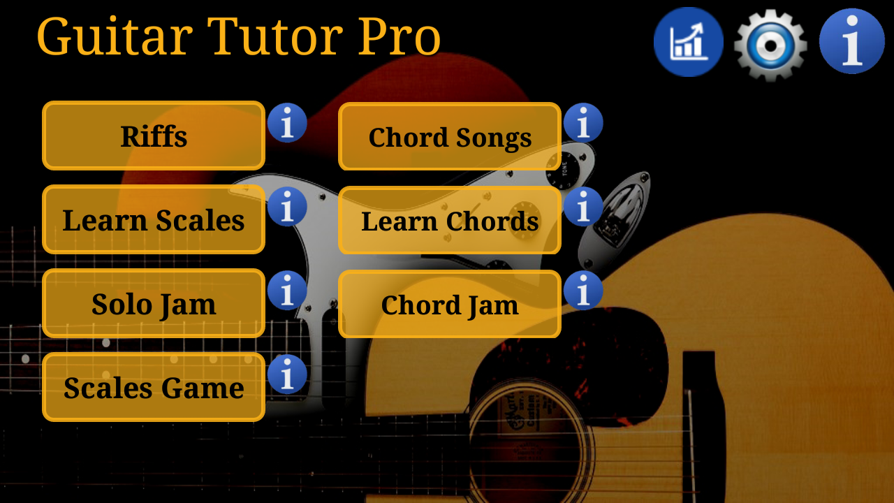 Guitar Tutor Pro - Learn Songs Screenshot 1