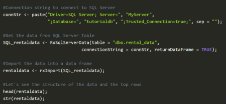 Tutorial: Build a live rental prediction service with SQL Server R Services