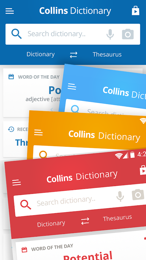 Collins English Dictionary and Thesaurus Screenshot 3