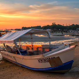 Capturing The Light by Geoffrey Wols - Transportation Boats ( tropical, sand, malapascua island, philippines, water, boat,  )