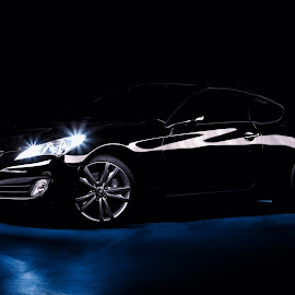 genesis by Jared Simmons - Novices Only Sports ( car, light painting, low key, automobile, auto, long exposure )
