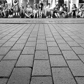 Waiting by Edi Enache - City,  Street & Park  Amusement Parks ( edi enache, image editor, waiting, enacheedi, photoshop expert, retoucher )
