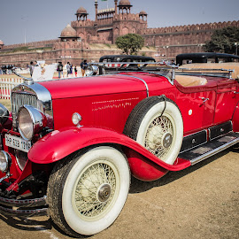Vintage Car by Swapnil Keshari - Transportation Automobiles ( autoexpo, vintage, cars, india, redfort, 21gunsalute,  )