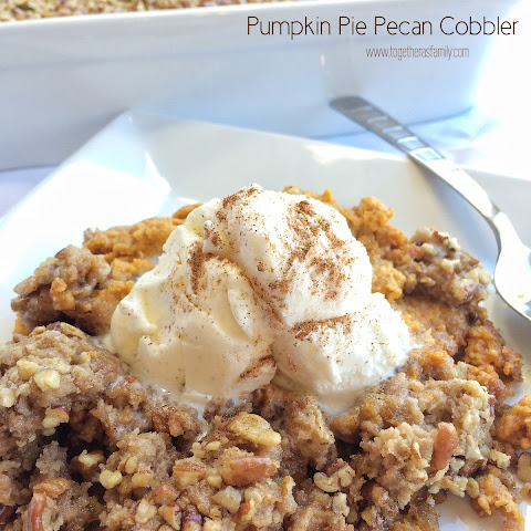 Pumpkin Pie Pecan Cobbler