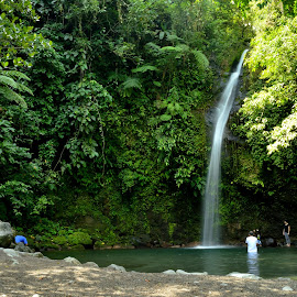 Busay falls , Albay,PH by Jawahar Srinath - Landscapes Waterscapes ( naturelovers, adventure, nature, waterscape, waterfall, falls, photographer, nature close up, nature photography, philippines, travel photography, daylight )