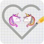 Unicorn Magic love balls Icon