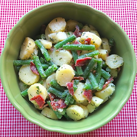 Green Bean, Cucumber & Red Potato Salad