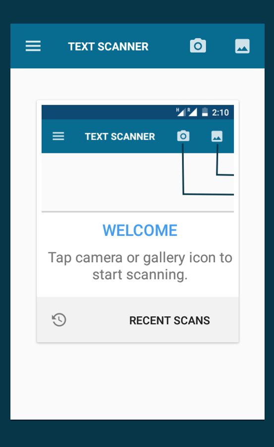 OCR - Text Scanner Pro Screenshot 0