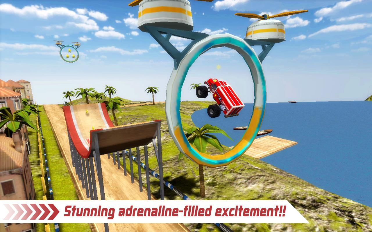 Monster Truck 4x4 Stunt Racer Screenshot 1
