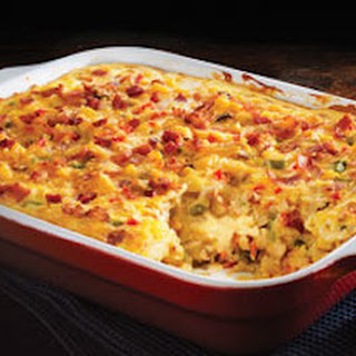 VELVEETA? Cheesy Bacon Brunch Casserole
