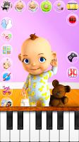 Screenshot of Talking Babsy Baby: Baby Games