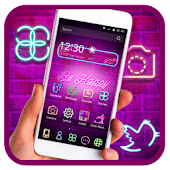 App Neon light Theme APK for Windows Phone
