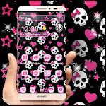 Pink Skull Theme Icon