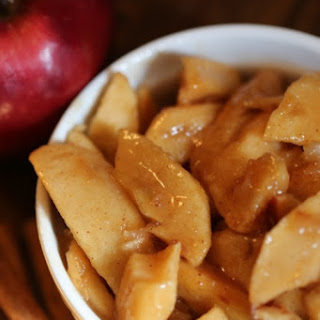 Crock Pot Fried Apples