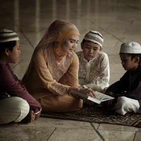 Belajar by Andrie Bastian - People Family ( , Emotion, portrait, human, people )