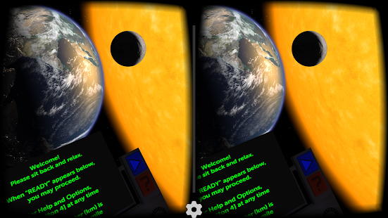 Titans of Space® Cardboard VR screenshot for Android