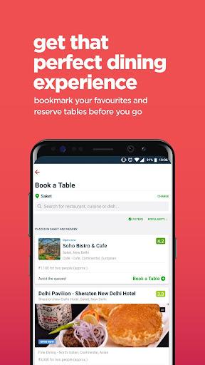 Zomato - Restaurant Finder screenshot 2
