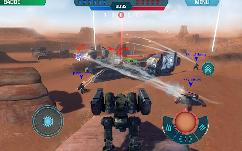 Game War Robots APK for Kindle