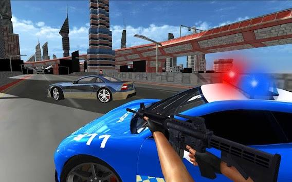Police Car Gangster Escape Sim apk screenshot