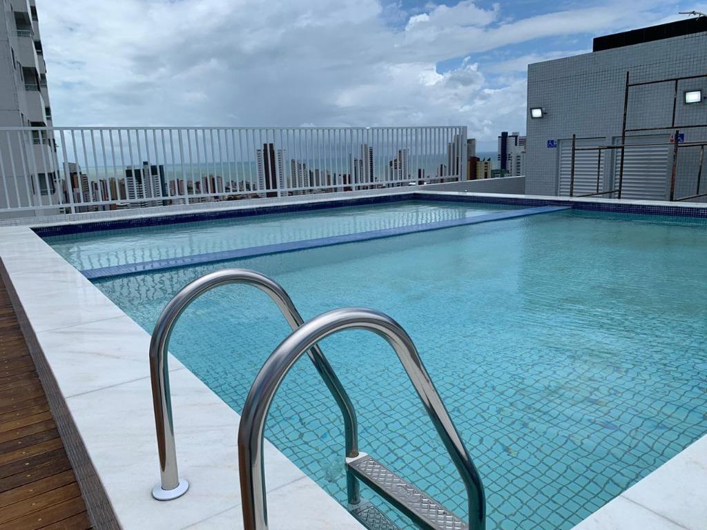 Flat com 1 dormitório à venda, 29 m² por R$ 180.000 - Miramar - João Pessoa/PB