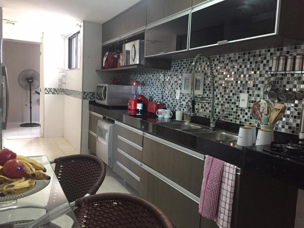 Apartamento com 3 dormitórios à venda, 120 m² por R$ 620.000 - Bessa - João Pessoa/PB
