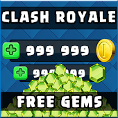 Unlimted Coin & Gems for Clash royale - Game Joke
