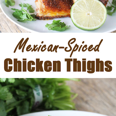 Mexican-Spiced Chicken Thighs