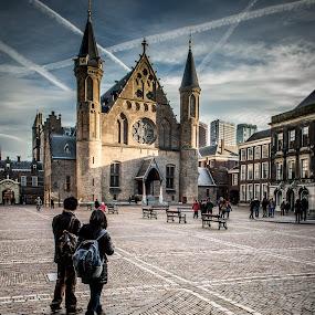 The Hague - Binnenhof by Henk Verheyen - Buildings & Architecture Public & Historical ( den haag, nederland, ridderzaal, binnenhof, the hague, netherlands )