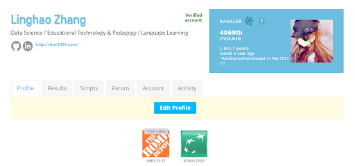 How to Rank 10% in Your First Kaggle Competition