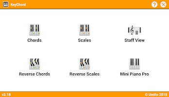 Screenshot of KeyChord - Piano Chords/Scales