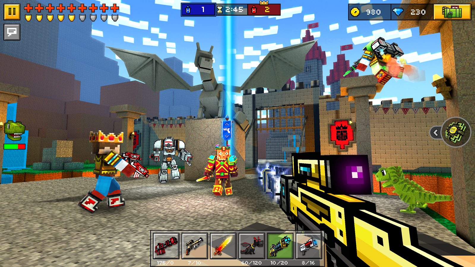 Pixel Gun 3D (Pocket Edition) Screenshot 1