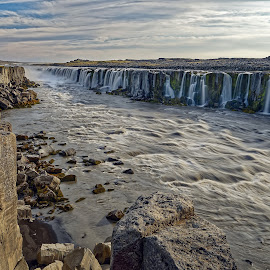 waterfalls in Iceland by Michaela Firešová - Landscapes Waterscapes ( iceland, waterfall, long exposure, landscape, river )
