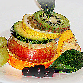 Mixed fruits by Renata Ivanovic - Food & Drink Fruits & Vegetables ( orange, kiwi, fruits, apples, close up, lemon,  )