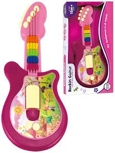 """Набор серии """"Для творчества"""", гитара детская музыкальная, фуксия"""