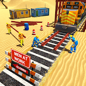 Download Train Construction: World Railway Track Builders APK for Android Kitkat