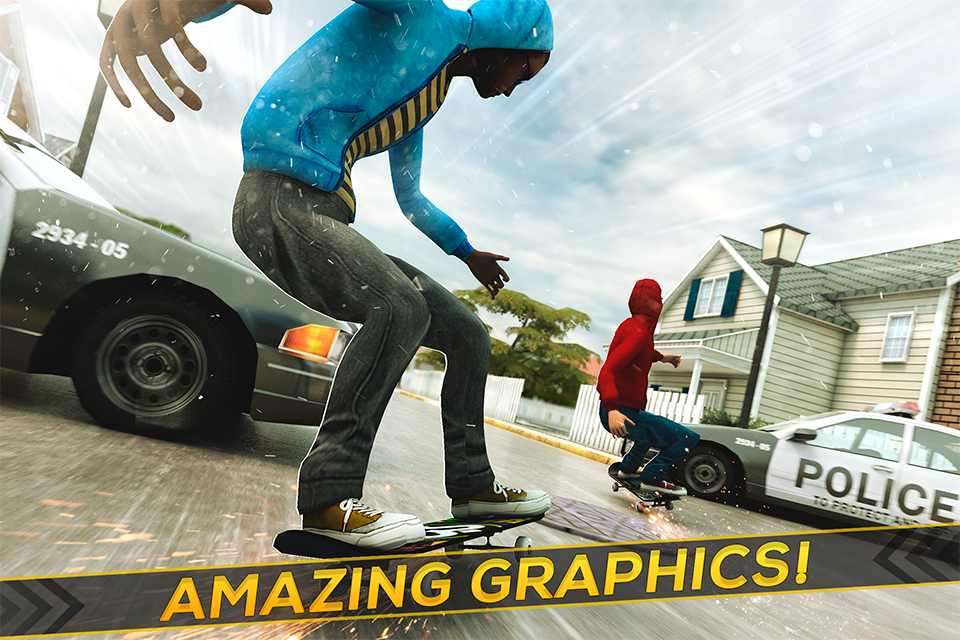 True Skateboarding Ride Screenshot 2